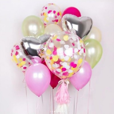Набор воздушных шаров Розовая Фантазия