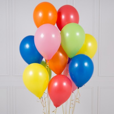 Цветные воздушные шары Яркая радуга