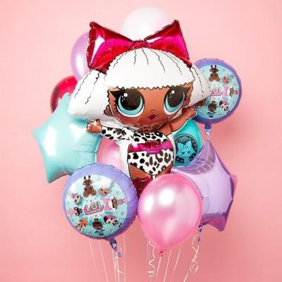 Воздушные шары куклы ЛОЛ