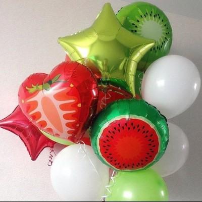 Шар Клубника воздушный шар Арбуз шар Киви