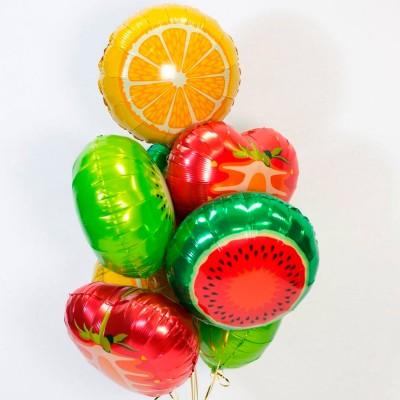 Шарики Апельсин и шары Фрукты