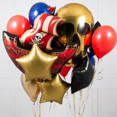 Воздушные шары с гелием Пират