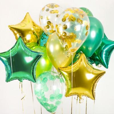 Желто зеленые шары Милитари