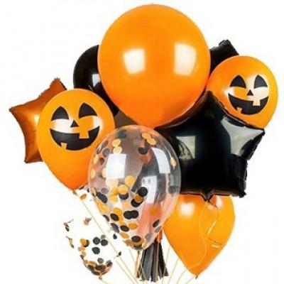 Гелиевые шарики к Хэллоуину