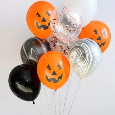 Гелиевые шарики Тыквы Хэллоуин