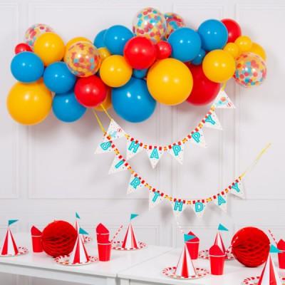Гирлянда из воздушных шаров Цирк, 2 м