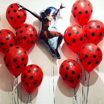 Воздушные шары Леди Баг