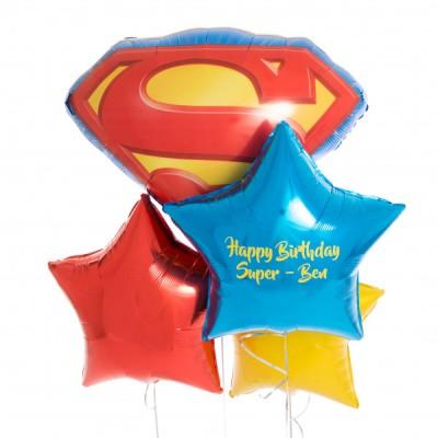 Фонтан из шаров Мой любимый Супермен