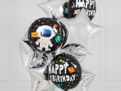 Шары на день рождения Космонавт
