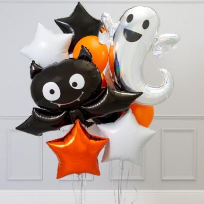Воздушные шары Летучая Мышь Хэллоуин