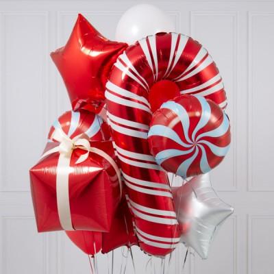 Шарики на Новый год Подарок