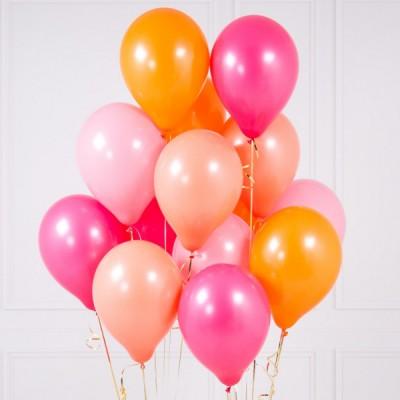 Связка шаров Розовый Фламинго