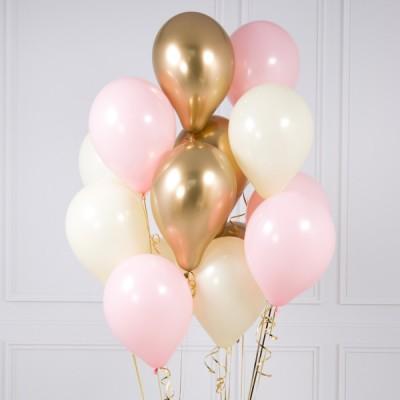 Розово Золотые шары Baby Pink