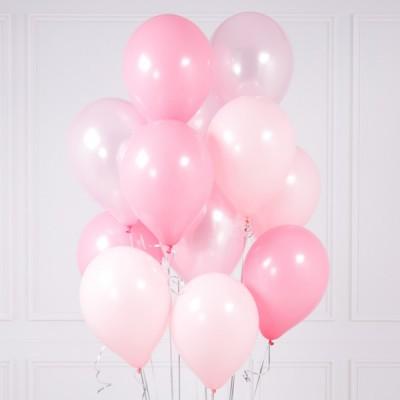Воздушные шарики Розовые Принцесса