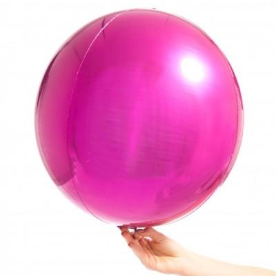 Воздушный шар сфера Фуксия