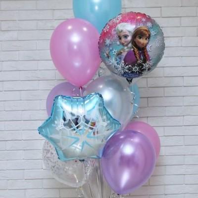 Воздушные шары Холодное сердце Эльза и Анна