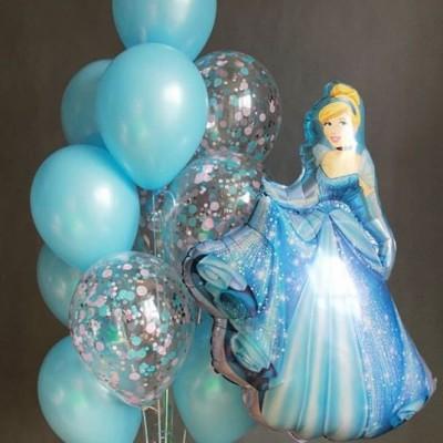 Шарик Золушка и фонтан из шаров