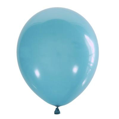 Голубой воздушный шарик Aqua Blue