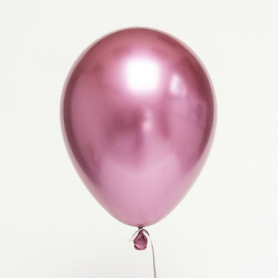 Розовый Хром шары
