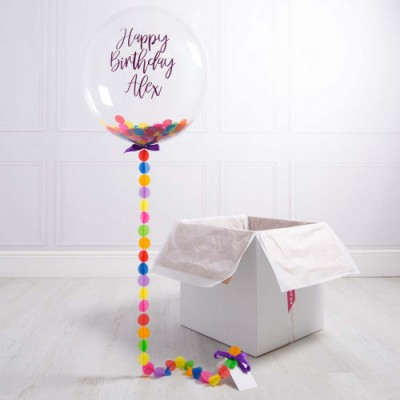 Коробка Сюрприз с шарами Баблс
