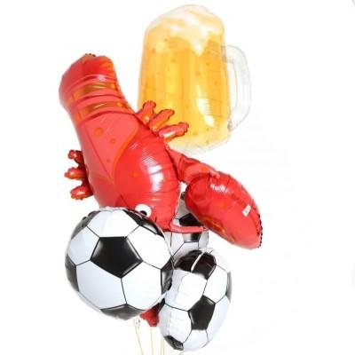 Шар Пивная кружка Лобстер и Футбольный мяч