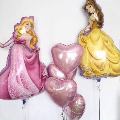 Воздушные шары Принцессы Аврора и Бель