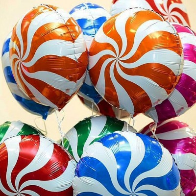 Воздушные шары Леденцы яркие