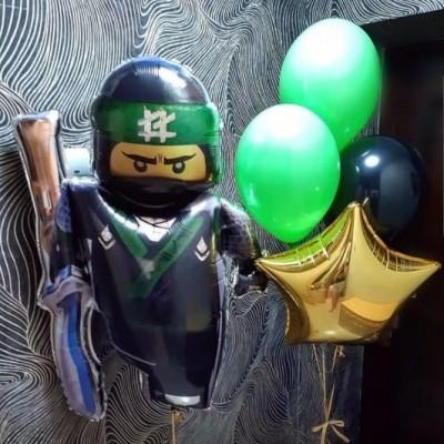 Воздушные шарики Ниндзяго