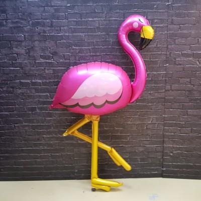 Ходячие шары Розовый Фламинго