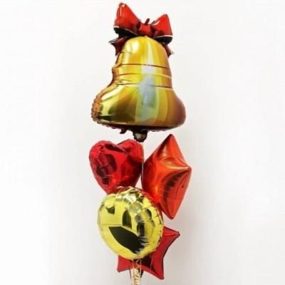 Воздушные шары Выпускной Последний Звонок
