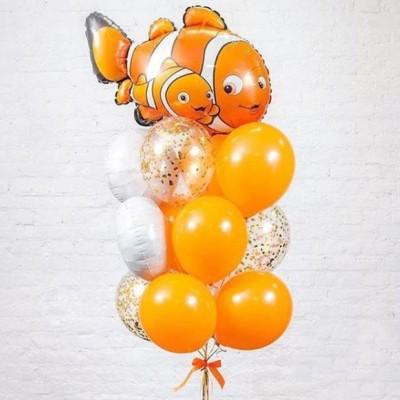 Фонтан из шариков В поисках Немо