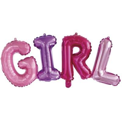 Надувные шары буквы GIRL