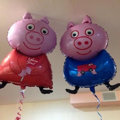 Фольгированные шары Свинка Пеппа