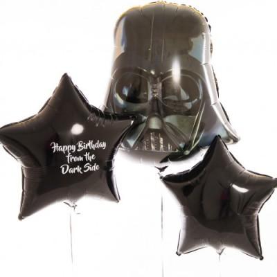 Воздушный шар Дарт Вейдер и шары с надписью