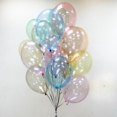 Воздушные шары Мыльные пузыри Кристалл