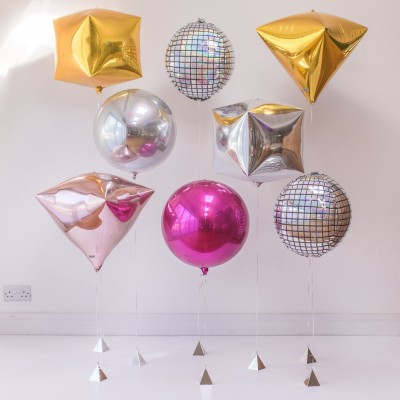Большие шары для фотосессии сферы и диско-шары