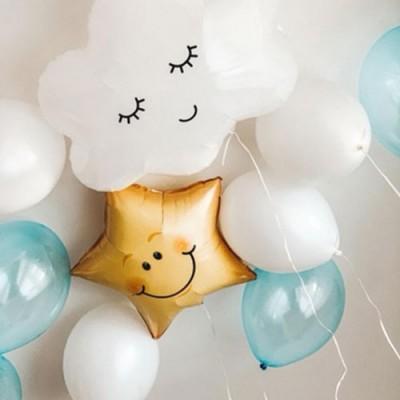 Шар облако и набор воздушных шариков
