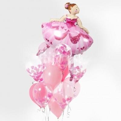 Воздушные шары Балерина