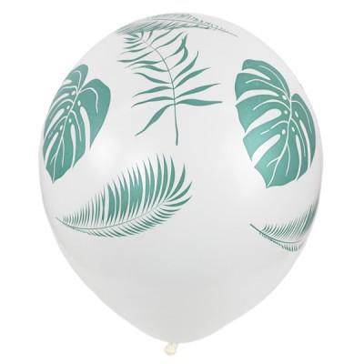 Латексный шар Листья тропики