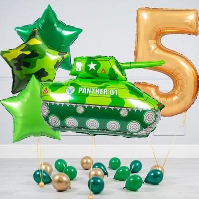 Шар Танк и шары на 5 лет