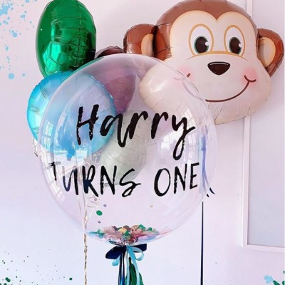 Воздушный шар обезьяна