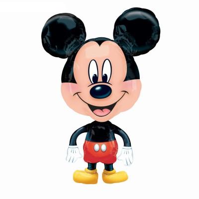 Ходячий шарик Микки Маус большеголовый