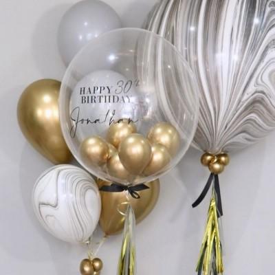 Большие гелиевые шары с персональной надписью