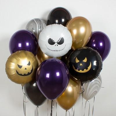 Воздушные шары на Хэллоуин Ночной кошмар