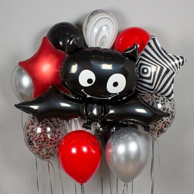 Воздушный шар Летучая мышь в наборе из шаров