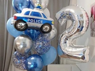 Воздушные шары Полиция
