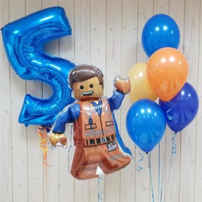 Воздушные шары Лего