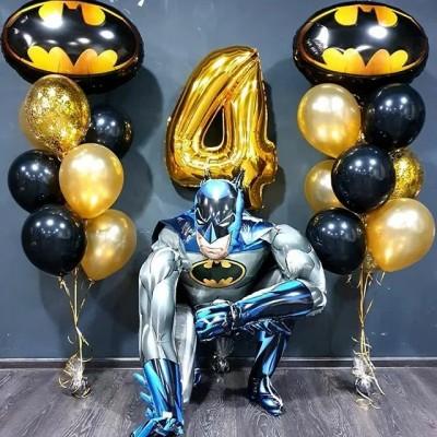 Композиция шаров с Бэтменом