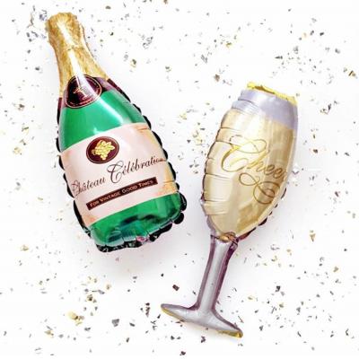 Фольгированные шары Шампанское