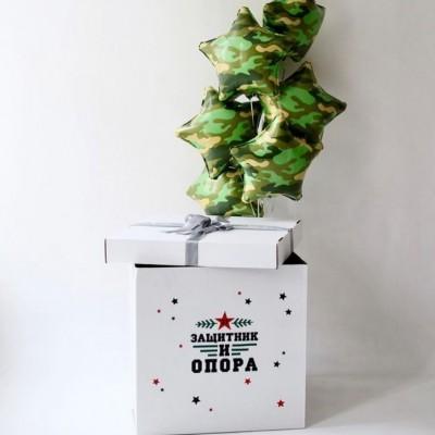 Коробка с шарами для мужчины